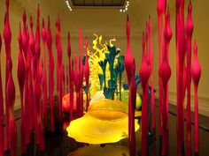 Dale Chihuly of Him | Dale Chihuly: Mille Fiori, Hand Blown Glass