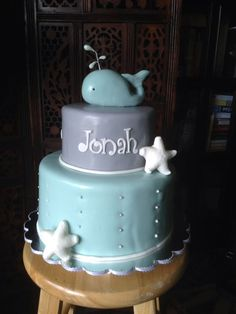 Jonah and the whale cake by The Vagabond Baker
