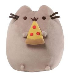 Pusheen Pizza Plush Toy The Worlds gone crazy for pusheen....fancy a pizza the action? Celebrate the awesomeness of this kitty with the help of this adorable plush toy. http://www.MightGet.com/may-2017-1/unbranded-pusheen-pizza-plush-toy.asp
