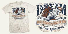 Dream of a Better World - T-shirt design by BioWorkZ - Mintees