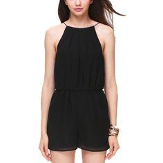Black Romper Short Jumpsuit MADE IN USA Brand new. Size medium Boutique Dresses Mini