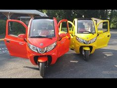 ZEV Electric T3-1 Trike Introduction - YouTube