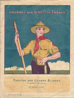 Scoutisme Journee DES Scouts DE France 1924 | eBay advertisement