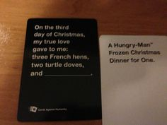 "The time it suddenly became very real. | 26 Times ""Cards Against Humanity"" Was Almost Too Perfect"