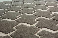 100% Tibetan wool rug.