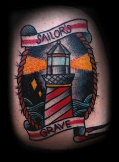 lighthouse tattoo | Tumblr