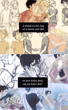 Percabeth. Feels. Crying.