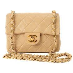 Chanel Mini Beige Bag