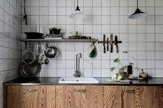 Los toques para una cocina industrial.