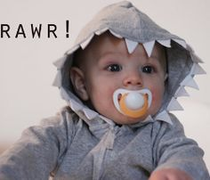 """You've never seen a """"shark"""" look this cute. The Boy Shark Hoodie makes for a truly adorable sweatshirt for a child. You can use this hoodie pattern to make this fun sewing project."""