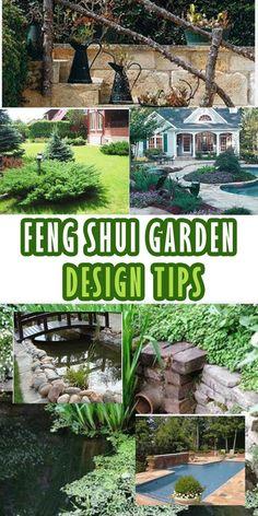 Feng shui garden design tips - NaturalGardenIdeas.com
