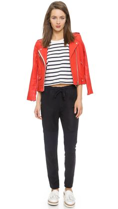 AG The Seamed Weekend Pants
