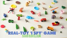 Create a Real-Toy I Spy game. Created By: The Sugar Aunts
