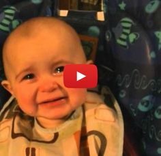 The *Extremely* Emotional Baby - OMG. You've gotta watch this whole thing. This baby goes through quite the emotional whipsaw while his mother sings to him.