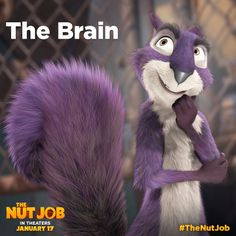 See Surly hatch his master plan on January 17. No nuts, no glory! #TheNutJob
