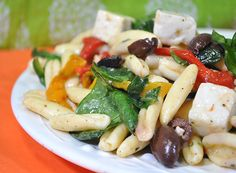 Baby Spinach Cavatelli....great as an entree or side