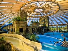 Aquaworld Resort Budapest - hotel and Aqua Park located in Budapest serve a lot of services from a 1 day holiday to the a week long tropical vacation. Park Hotel, Hotel S, Outdoor Pool, Outdoor Decor, Italy Holidays, Italy Tours, Budapest Hungary, Hotel Budapest, Holiday Destinations