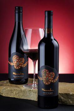 Meandra wine label