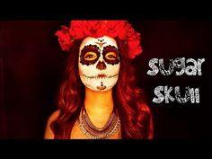 Sugar Skull Makeup Tutorial | Dia De Los Muertos