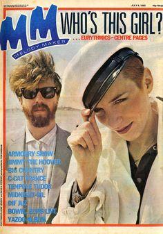Magazine - 1983-07-01 Eurythmics - UK - Melody Maker - http://www.eurythmics-ultimate.com/magazine-1983-07-01-eurythmics-uk-melody-maker/