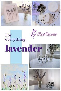 Handmade Lavender Products by FleurEscents Handmade Leather Wallet, Xmas Gifts, Wedding Favors, Etsy Seller, Lavender, Diy Projects, Place Card Holders, Etsy Shop, Table Decorations