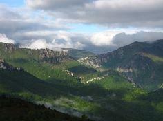 El valle del Nalón en Asturias