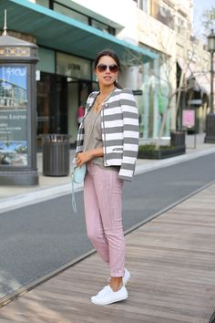 Casula Outfit: Pastels + Stripes