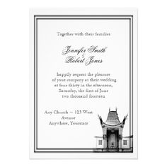 Los Angeles Destination Wedding Invitation -repinned from Los Angeles County, California celebrant https://OfficiantGuy.com #destinationweddings