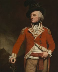John Opie, 1761-1807, British, An Officer in the East India Uniform of the 74th (Highland) Regiment, Previously Called Colonel Donald Macleod, ca. 1796, Oil on canvas, Yale Center for British Art, Paul Mellon Collection.
