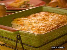 Golden Chicken Casserole-good way to use left over chicken or turkey
