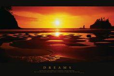 "ISP30028"" Dreams - Sunset"" (24 X 36)"
