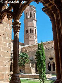 Claustro y torre mudéjar del Monasterio de Rueda, Zaragoza