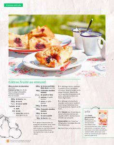 Shortcut - Gâteau fruité au streusel Cooking, Butter, Apple, Kitchens, Oven Cooking, Almond, Blackberries, Sheet Pan, Kitchen