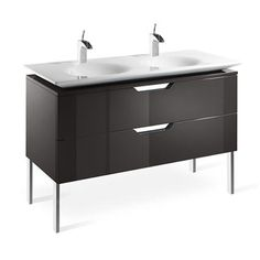 The right vanity unit can transform the look and feel of any bathroom. Soakology stock bathroom vanity units in a wide range of styles and sizes online. Basin Vanity Unit, Basin Unit, Bathroom Vanity Units, Bathroom Ideas, Cabinet Furniture, Bathroom Furniture, Lavabo Design, Ikea, Wall Mounted Vanity