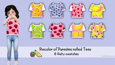 Sims 4 CC's - The Best: Toddlers Shirts by My Fabulous Sims