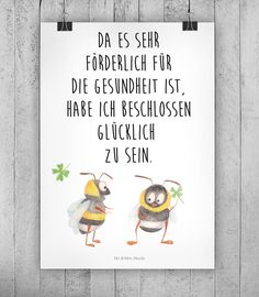 Süßer Spruch für die Wohndeko / art print with cute saying, home decoration made by small-world via DaWanda.com