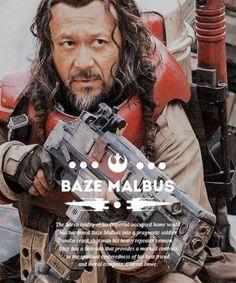 Star Wars Rogue 1 Baze Malbus