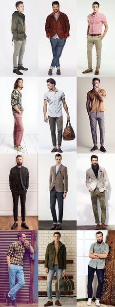 Contemporary Men's Trouser Lengths: The Trouser Roll Lookbook Inspiration