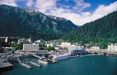 I visited Juneau, Alaska, with Karen Lennon in 2009. We drove past Sarah Palin's governor mansion. She was governor at the time.