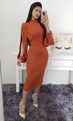 Elegant Dresses For Women, Stylish Dresses, Simple Dresses, Dresses For Work, Classy Dress, Classy Outfits, Chic Outfits, Dress Outfits, African Fashion Dresses