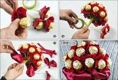 baby socks flowers bouquet diy - Google Search