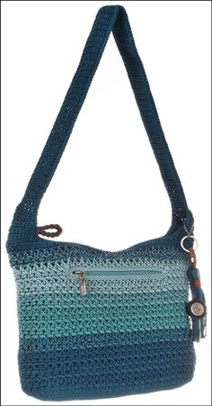 CROCHET FABRICS - CROCHET - PATTERNS: Crocheted BAGS