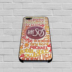 5 Seconds Of Summer 5SOS Quote Design case of iPhone  case,Samsung Galaxy #case #phonecase #hardcase #iPhone6case