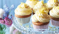 Cupcake Flavors, Cupcake Recipes, Cupcake Cakes, Icing Cupcakes, Tea Cupcakes, Cup Cakes, Dessert Recipes, Mothers Day Cupcakes, Easter Cupcakes