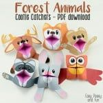 Forest Animals Cootie Catchers – Origami for Kids