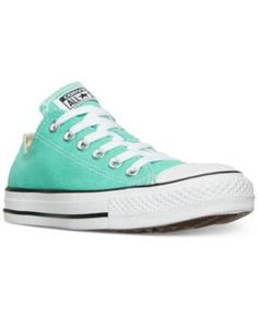 Converse Women's Chuck Taylor Ox Casual Sneakers from Finish Line - Green