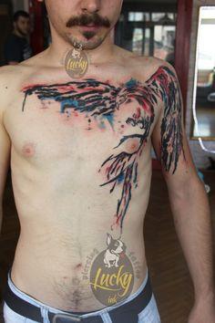 Anka Kuşu Tattoo Peri Dövmesi Lucky Ink Tattoo Gazi Kadınlar sokağı Alsancak Konak 0554 743 78 58 www.facebook.com/izmir.tattoo.piercing https://www.izmirtattoo.com/ https://www.tattooluckyink.com/