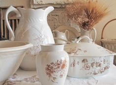 . . . Cabin & Cottage : A Thing Of Joy~ Ironstone & Transferware Treasures