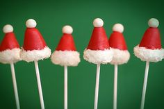 christmas cake pops. so cute