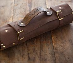 Chef Knife Roll Leatherworker Steven Goodson 832 428 2389 Tool